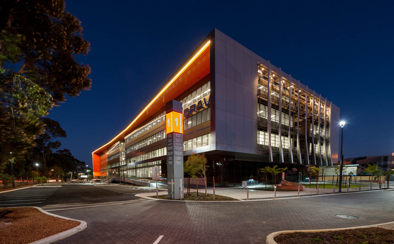 Perth Airport - Bravo Building Copyright Brian Smyth